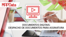 Documentos Digitais: Despacho de documentos para assinatura