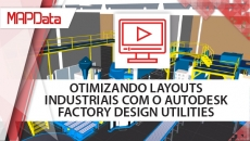 Otimizando layouts industriais com o Autodesk Factory Design Utilities